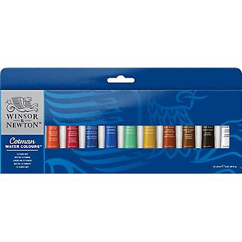 Winsor & Newton Cotman Aquarel verf 12 x 8ml Set