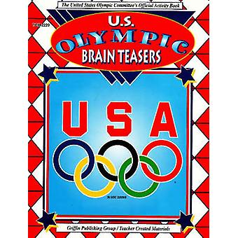 US Olympic Brain Teasers by Cynthia Holzschuher - 9781580000574 Book