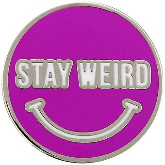 Grindstore Stay Weird Enamel Pin Badge
