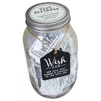 Splosh 21st Birthday Wish Jar | Gifts From Handpicked