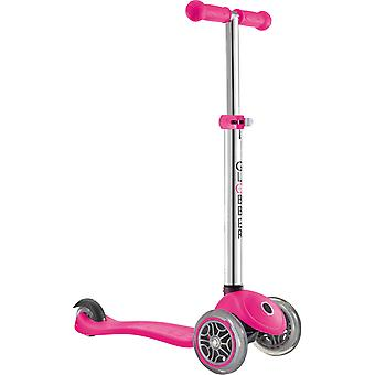 Globber Primo Kids Scooter - Primo Scooter - 3 Wheel Scooter - Neon Pink