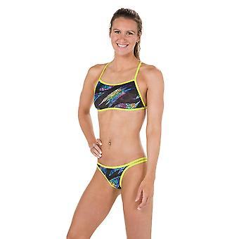 Speedo Rain Splash Flip Reverse 2 Piece Swimwear For Girls
