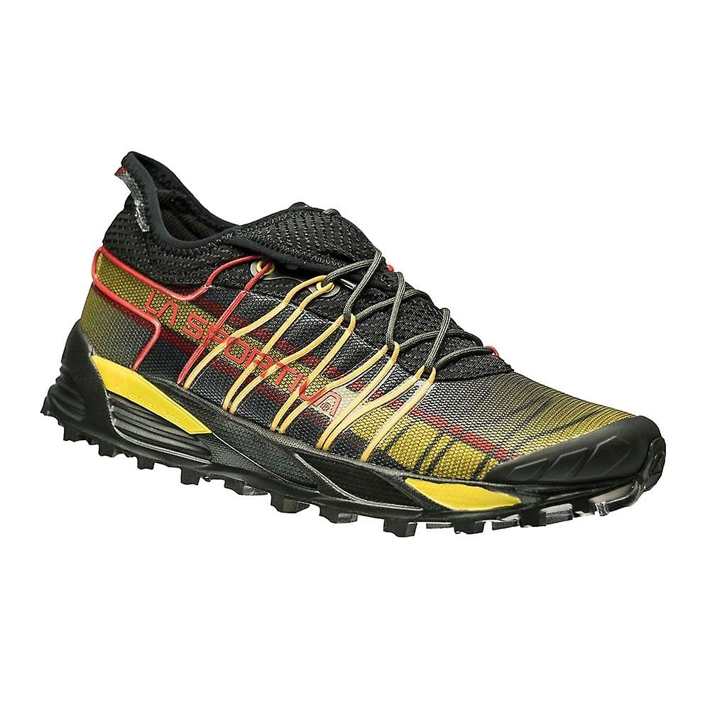 La Sportiva Mutant Mens Trail/mountain Off Road Running Shoes Black/yellow