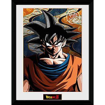 Dragon Ball Z Goku gerahmt Collector Print 40x30cm