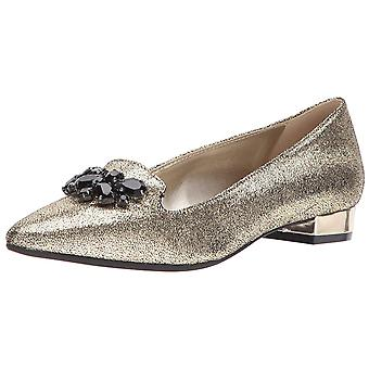 Anne Klein Womens Kamy Pointed Toe Loafers