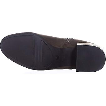 Bar III Womens Gatlin Kumaş Kapalı Ayak Bileği Moda Boots