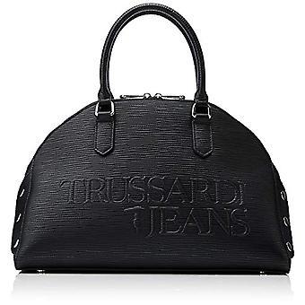 Trussardi Jeans Melly Bauletto Black Women's handbag 55x30x15 cm (W x H x L)