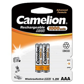 Camelion HR03 1.2 V 1000 mAh AAA Micro Nickel Metal Hydride Rechargeable Battery (Pack of 2)