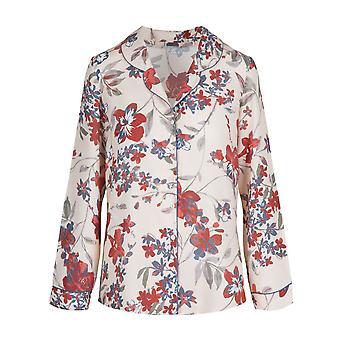 LingaDore 4429-225 Women's Flower Power Multicoloured Floral Pyjama Top