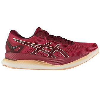 Asics Womens Ladies Glideride Mesh Upper Lace-Up Running Trainers Sports Shoes