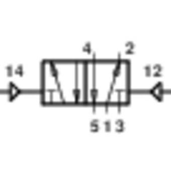 Norgren Mechanically operated pneumatic valve V60A5DDA-X5020 24 V DC Enclosure material Aluminium Sealant NBR 1 pc(s)