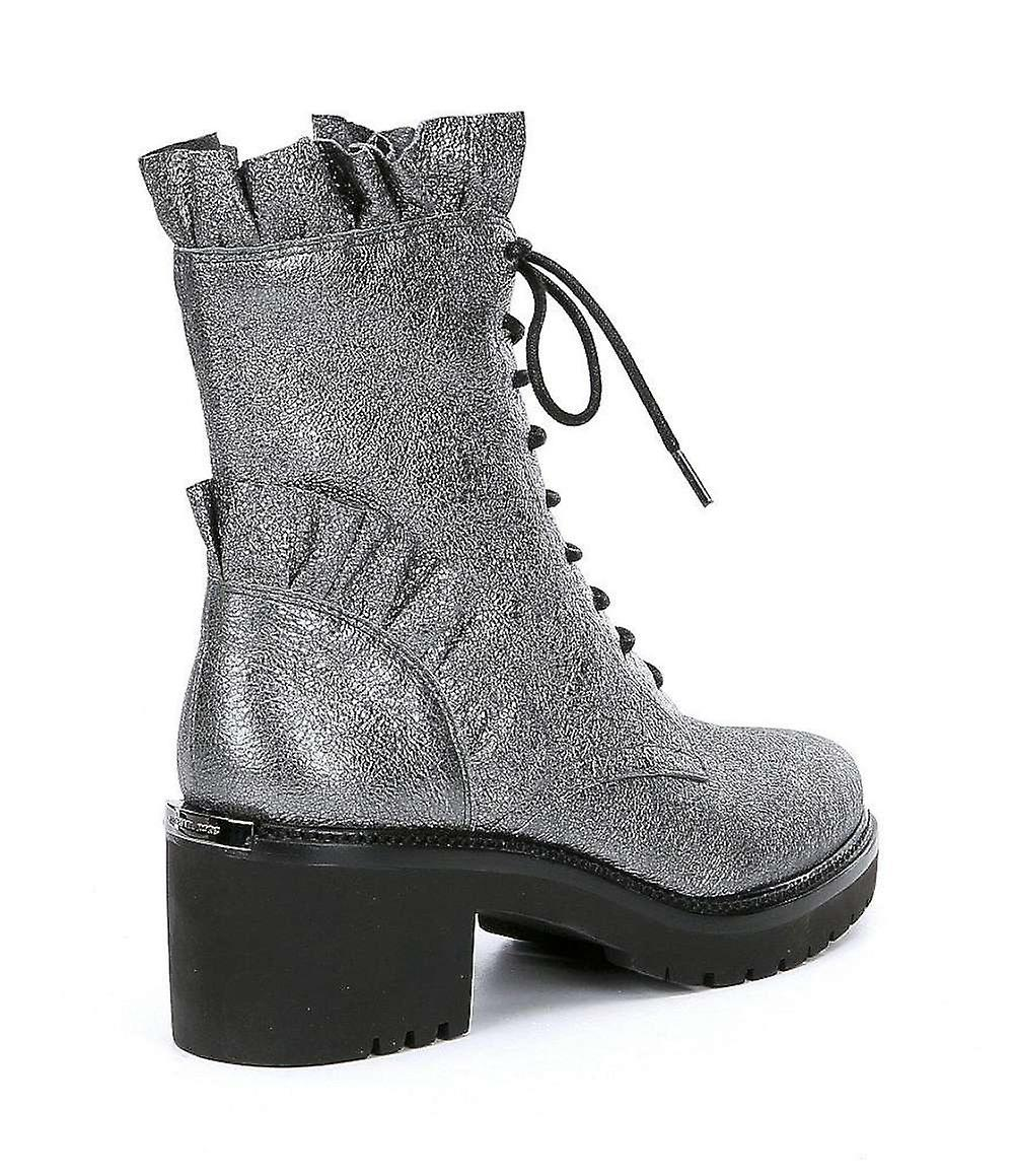 Michael Kors Womens Bella Leather Almond Toe Ankle Fashion Boots