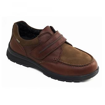 Padders Trek Mens Leather Wide (g/h) Shoes Tan