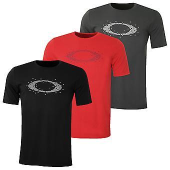 Oakley Mens Ellipse Dots Tee T-Shirt leggera traspirante