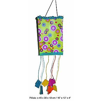 Classic Pinata for Filling Foldable Birthday Party Kids Party 35 x 20 x 1 cm