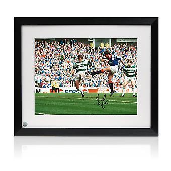 Ally McCoist undertecknat Rangers Foto: gamla företaget Derby inramade