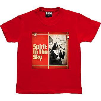 Spirit In The Sky Red Kids' T-Shirt