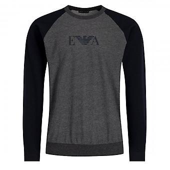 Emporio Armani Underwear Grey Crew Neck Loungewear Sweatshirt 111062 9A566
