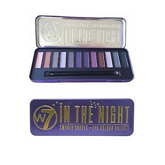W7 Cosmetics In de tinten van de nacht-Smokey Eye-kleurenpalet