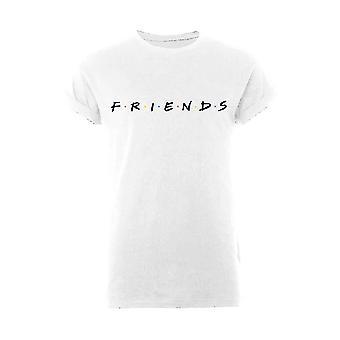 Women's Friends Classic Logo Rolled Sleeve T-Shirt