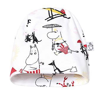 Moomin, Hat, Beach, White/Red