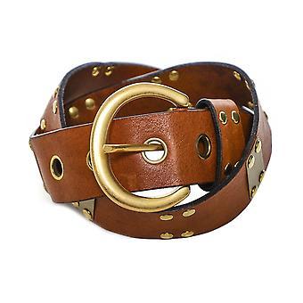 Nanni Lederen Bezaaid Bar Belt