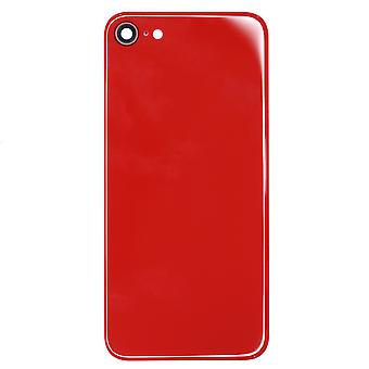 Red Back Glass Replacement For iPhone 8   iParts4u
