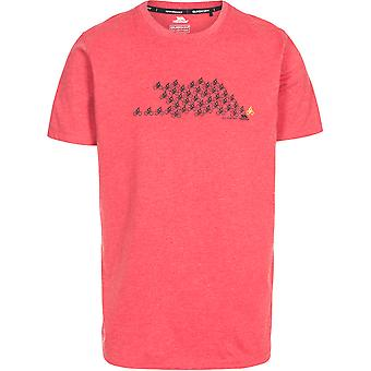 Trespass Mens Borlie Wicking Quick Dry Round Neck T Shirt