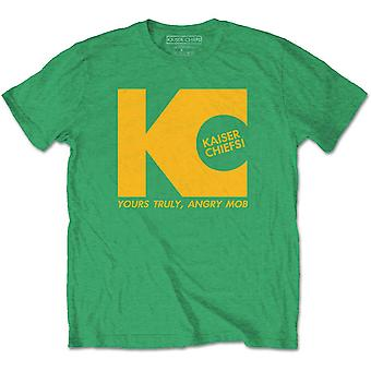 Green Kaiser Chiefs Yours Truly officiella Tee T-Shirt Mens Unisex