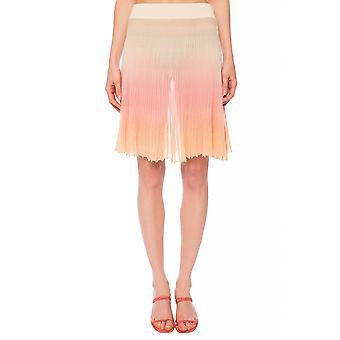Jacquemus 201kn432015445a Women's Orange Polyester Skirt
