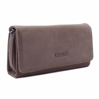 Peter Kaiser Lanelle Clutch Bag In Fur Suede