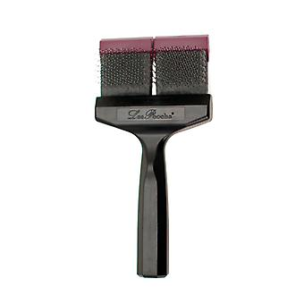 Les Pooch Purple Hard Brush Double