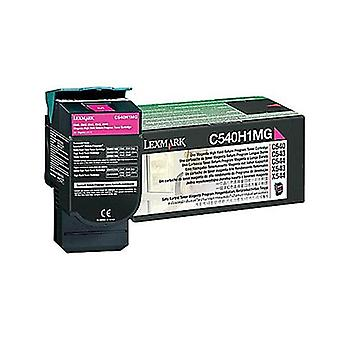 Lexmark C540H1Mg Magenta Toner Yield 2K Pages