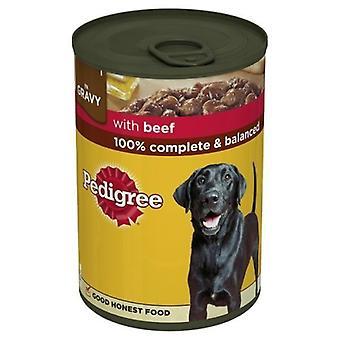 Pedigree Beef In Gravy Wet Dog Food (12 Packs)