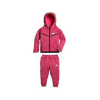 Baby's Tracksuit Nike 400-A3D Fuchsia Black/18-24 Meses