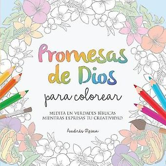 Promesas de Dios para Colorear Medita en verdades bblicas mientras expresas tu creatividad by Reina & Andrs