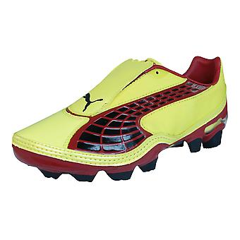 Puma V1.10 i FG Boys Football Boots / Cleats - Yellow