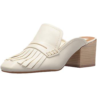 Dolce Vita Womens Katina Leather Square Toe Mules