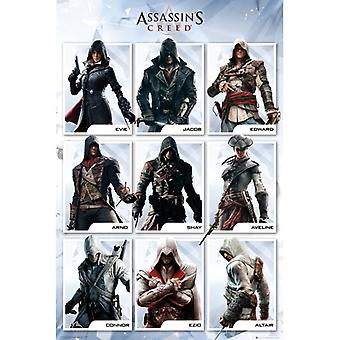 Assassins Creed Kokoelma Maxi Juliste
