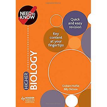 Trenger å vite - Høyere biologi av Graham Moffat - 9781510451094 Book