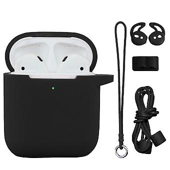 Thick airpods silicone anti-fall storage box set airpods protective cover set