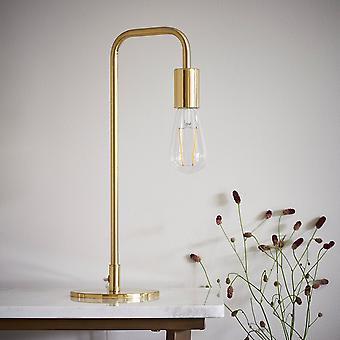 Endon Éclairage Rubens lampe de table en laiton brossé