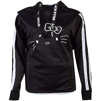 Official Hello Kitty Side Buttons Hello Kitty Women's Hoodie