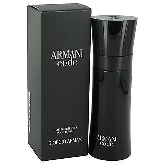 Armani Code Eau De Toilette Spray av Giorgio Armani 2.5 oz Eau De Toilette Spray