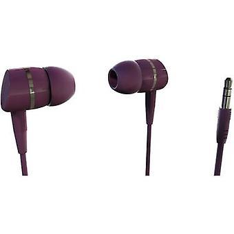 Vivanco SOLIDSOUND BERRY Hi-Fi In-ear headphones In-ear Berry