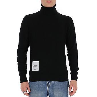 Maison Margiela S50ha0974s16823900 Men's Black Wool Sweater