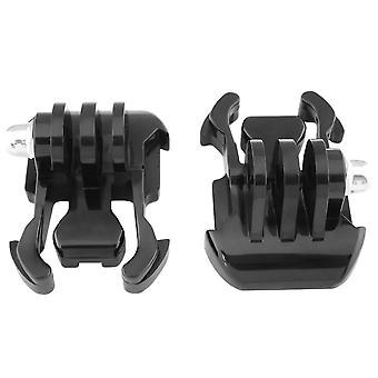 2x Quick Release Mounts for GoPro Hero 4, 3+, 3, 2, 1
