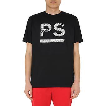 Ps Door Paul Smith M2r011rap188979 Men's Black Cotton T-shirt