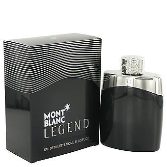 Montblanc Legend Eau De Toilette Spray By Mont Blanc 3.4 oz Eau De Toilette Spray