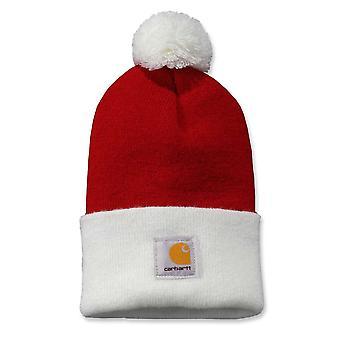Carhartt Mens Lookout Warm Beanie Bobble Hat
